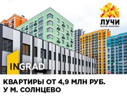 Ключи в этом году! Скидки до 5%. Ипотека от 6% Московская прописка.